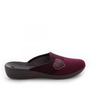 Papuci de casă Inblu model: 5D 02 PRUGNA