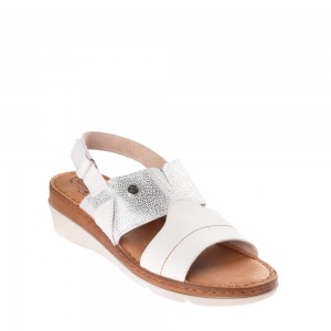 Sandale dama FLY FLOT 71F18WHITE