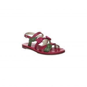 Sandale rosii GEOX fidia J3276B00043_C8002