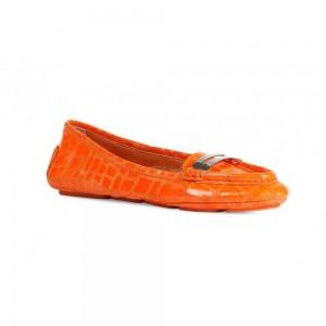 Balerini pentru femei, Geox Sara Moca portocaliu fluorescent D32Q4A00040_C7007