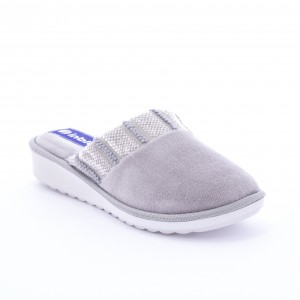Papuci de casă Inblu model: CI 68 GRIGIO