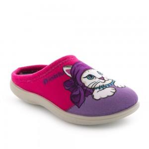Papuci de casă Inblu model: B9 20 FUXIA