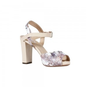 Sandale femei Geox Egiza 2 alb/bej D32N5M01266_C1391