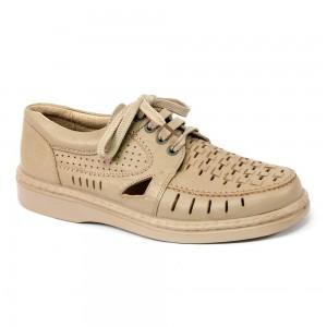 Pantofi barbati TIGINA 504505 crem