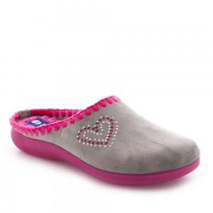 Papuci de casă Inblu model: EC 14 GRIGIO