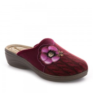 Papuci de casă Inblu model: LY 42 PRUGNA