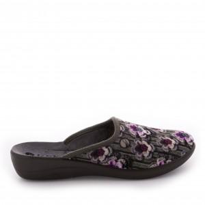 Papuci de casă Inblu model: 5D 07 GRIGIO